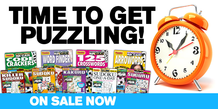 Time to get puzzling with Puzzler's magazines!