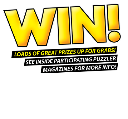 Win loads of great prizes in Australian Puzzler magazines!