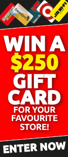 Win a gift card for your favourite store!