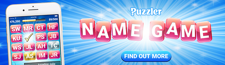 Puzzler Name Game - coming soon to Puzzler Digital!