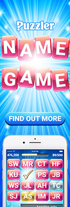 Play our fun name-guessing app, Name Game!