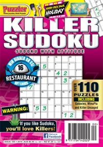 Killer Sudoku | Puzzler® AUS